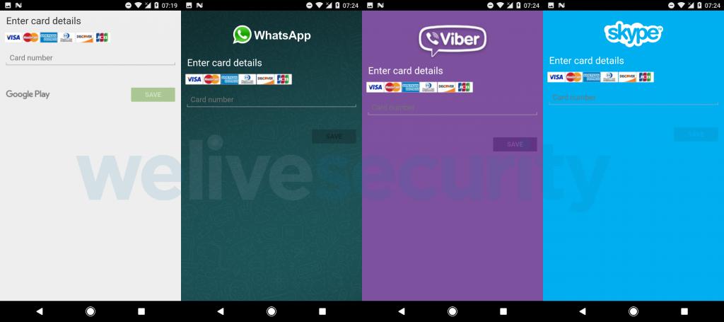 L'overlay del trojan per note app