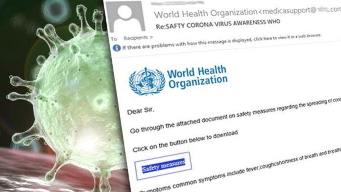 Coronavirus phishing malspam (S. Lombardo)